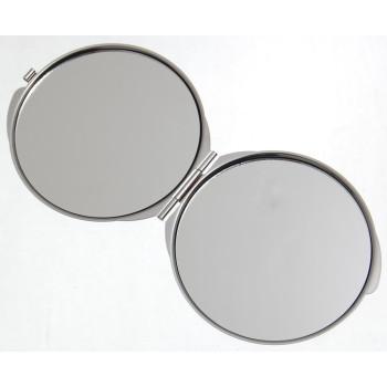 Сувенирно джобно огледало метал с капаче - Златни пясъци