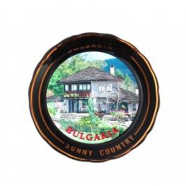 Сувенирна порцеланова чинийка с магнит