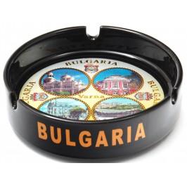 Сувенирен керамичен пепелник с лазарна графика - снимки от Варна