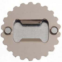 Сувенирна метална отварачка с магнит - капачка - Созопол