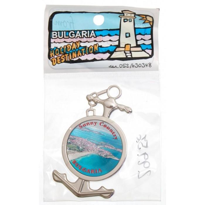 Сувенирна фигурка с магнит - котва - Българско крайбрежие