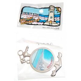 Сувенирна фигурка с магнит - котва - крайбрежие с надпис България Предлага се в целофанена опаковка с тематичен принт