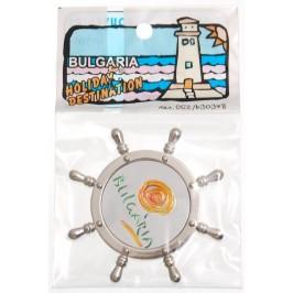 Сувенирна фигурка с магнит - рул - лого България