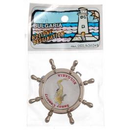 Сувенирна фигурка с магнит - рул - морско конче