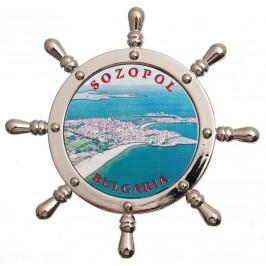 Сувенирна фигурка с магнит - рул - Созопол