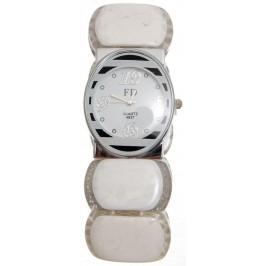 Елегантен часовник с PVC верижка на ластична основа