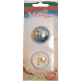 Сувенирни магнитни фигурки - морски бряг и лого България