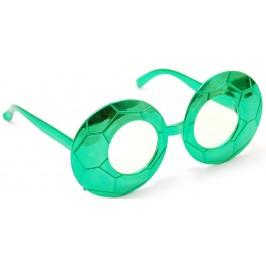 Карнавални очила с формата на футболни топки
