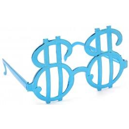 Карнавални очила със знака на долар