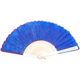 Сувенирно ветрило пластмаса и бродиран текстил - 23см