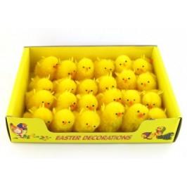 Декоративни фигурки Великденски пиленца - 6см