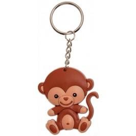 Сувенирен гумен ключодържател - маймунка
