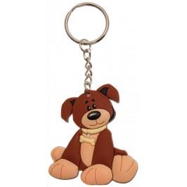 Сувенирен гумен ключодържател - куче