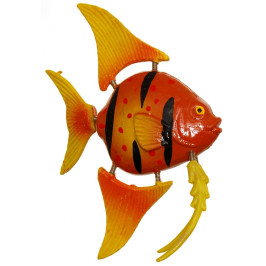 Сувенирна фигурка с магнит - риба - 5см