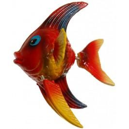 Сувенирна фигурка с магнит - риба - 4см