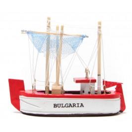 Сувенирна рибарска лодка - макет