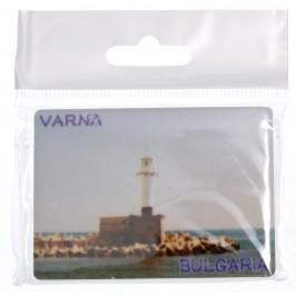 Сувенирна магнитна фигурка - морски фар - Варна
