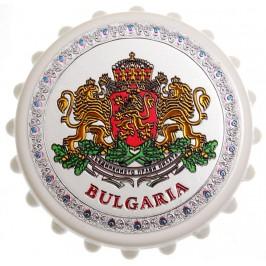 Сувенирна отварачка с магнит - капачка - Герб на Република България