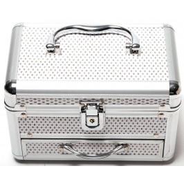 Стилна кутия за бижута декорирана с брокат