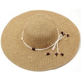 Лятна дамска шапка с голяма периферия - черна