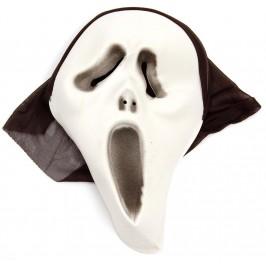 Карнавална маска с черен тензух за главата