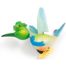 Сувенирна фигурка с магнит - птичка с шапка - 11см