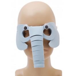 Карнавална маска - животни, изработена от дунапрен