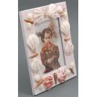 Декоративна рамка за снимки декорирана с миди и рапани