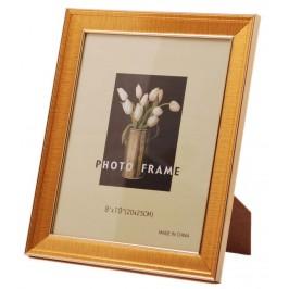 Красива фоторамка за снимки, украсена с външен и вътрешен кант