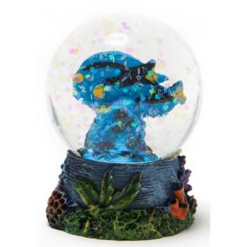 Декоративна фигурка - преспапие - две рибки върху корал