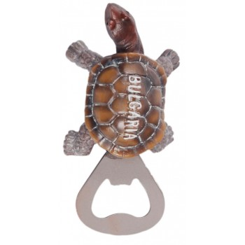 Сувенирна магнитна отварачка - костенурка