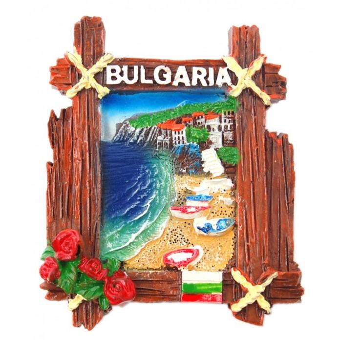 Декоративна фигурка с магнит - морски мотиви, България