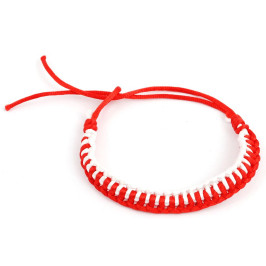 Мартеница плетена гривна