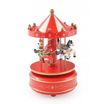 Музикална въртележка с четири кончета