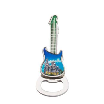 Сувенирна магнитна фигурка - китара, отварачка и щипка