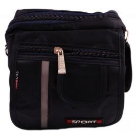 Мини чанта с дръжка за рамо, джоб за телефон и светлоотражателна лента