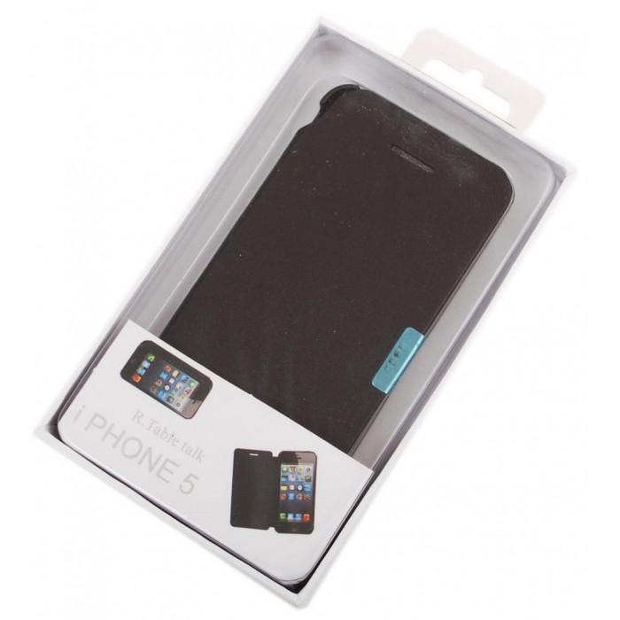 Кожен калъф за телефон i PHONE 5 с капак