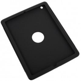 Калъф за таблет IPad 2/3 - гумиран с PVC гръб и поставка