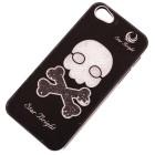 Калъф за телефон I5, декориран с череп с кръстосани кокали