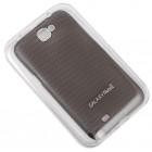Калъф за телефон метален за Samsung Note2 - черен