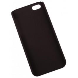 Гумиран калъф за телефон за iPHONE 5 - черен
