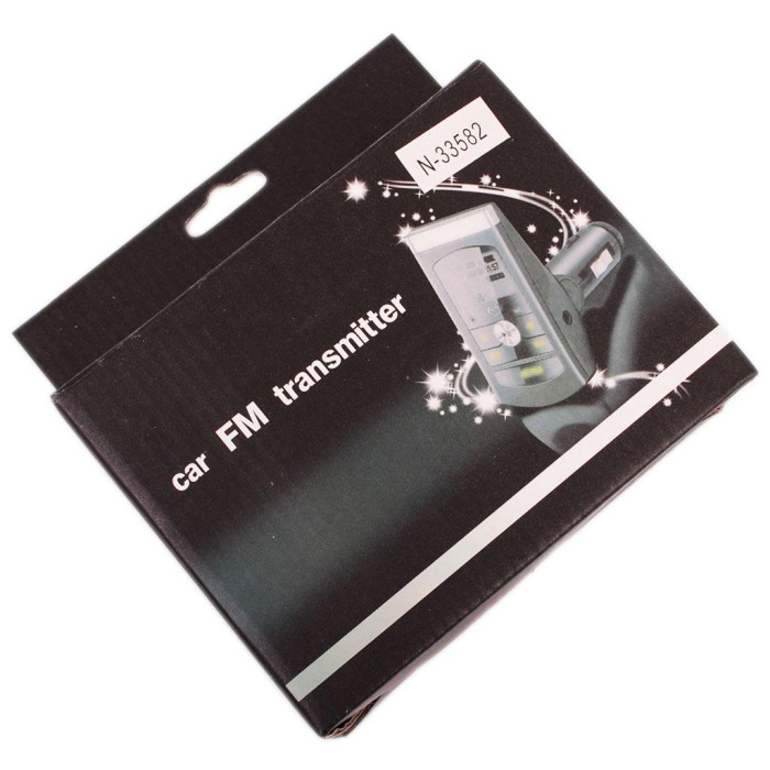 FM трансмитер за кола с дистанционно управление - излъчва на честоти от 87