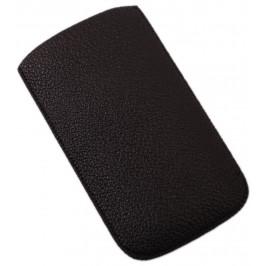 Калъф за телефон iPHONE 4, изработен от еко кожа - черен