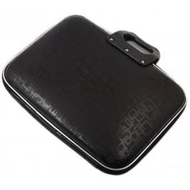 Чанта за лаптоп 16 инча, изработена от изкуствена кожа - кафява