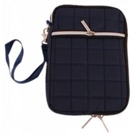 Калъф за таблет IPad 7 инча с връзка и отделен джоб, изработен от текстил