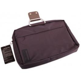 Елегантна дамска чанта за лаптоп с метални дръжки и допълнителни отделения - за аксесоарите на вашия компютър и регулируема презрамка за лесно и удобно носене