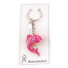 Сувенирен ключодържател във формата на рибка с пластинка - България
