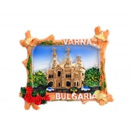 Декоративна фигурка с магнит - катедралата във Варна