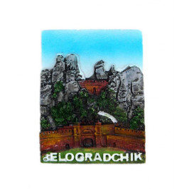Декоративна фигурка с магнит - Белоградчик