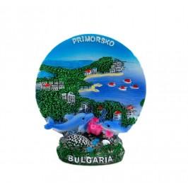 Декоративна фигурка с интересна форма - морски пейзаж - Приморско